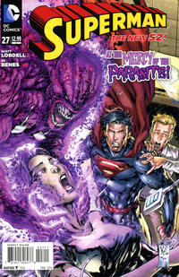 Cover Thumbnail for Superman (DC, 2011 series) #27