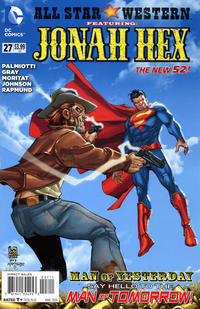 Cover Thumbnail for All Star Western (DC, 2011 series) #27