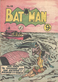 Cover Thumbnail for Batman (K. G. Murray, 1950 series) #65
