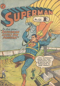 Cover Thumbnail for Superman (K. G. Murray, 1947 series) #126