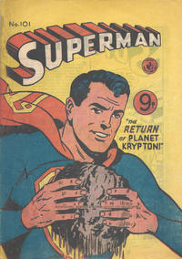 Cover Thumbnail for Superman (K. G. Murray, 1947 series) #101