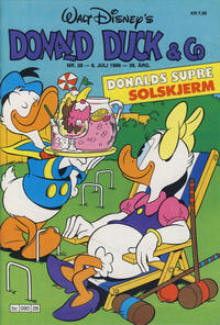 Cover Thumbnail for Donald Duck & Co (Hjemmet / Egmont, 1948 series) #28/1986