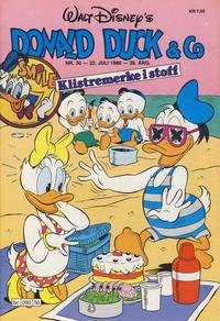 Cover Thumbnail for Donald Duck & Co (Hjemmet / Egmont, 1948 series) #30/1986
