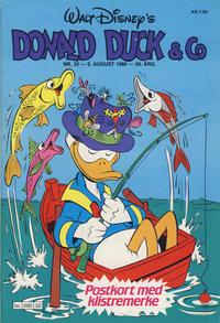 Cover Thumbnail for Donald Duck & Co (Hjemmet / Egmont, 1948 series) #32/1986