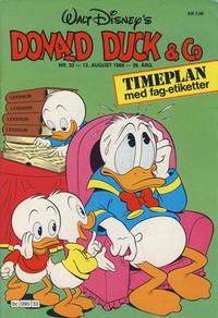 Cover Thumbnail for Donald Duck & Co (Hjemmet / Egmont, 1948 series) #33/1986