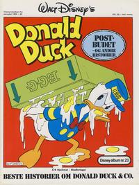 Cover Thumbnail for Walt Disney's Beste Historier om Donald Duck & Co [Disney-Album] (Hjemmet / Egmont, 1978 series) #23 - Postbudet