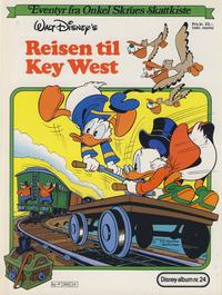 Cover Thumbnail for Walt Disney's Beste Historier om Donald Duck & Co [Disney-Album] (Hjemmet / Egmont, 1978 series) #24 - Reisen til Key West