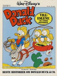 Cover Thumbnail for Walt Disney's Beste Historier om Donald Duck & Co [Disney-Album] (Hjemmet / Egmont, 1978 series) #25 - Villeslene