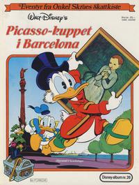 Cover Thumbnail for Walt Disney's Beste Historier om Donald Duck & Co [Disney-Album] (Hjemmet / Egmont, 1978 series) #26 - Picasso-kuppet i Barcelona