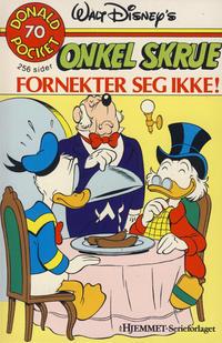 Cover Thumbnail for Donald Pocket (Hjemmet / Egmont, 1968 series) #70 - Onkel Skrue fornekter seg ikke! [1. opplag]