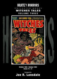 Cover Thumbnail for Harvey Horrors Collected Works: Witches Tales (PS, 2011 series) #3