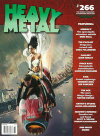 Cover Thumbnail for Heavy Metal Magazine (Heavy Metal, 1977 series) #266