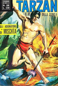 Cover Thumbnail for Tarzan (Editrice Cenisio, 1968 series) #28