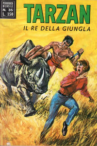 Cover Thumbnail for Tarzan (Editrice Cenisio, 1968 series) #35