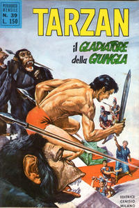 Cover Thumbnail for Tarzan (Editrice Cenisio, 1968 series) #39