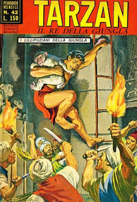 Cover Thumbnail for Tarzan (Editrice Cenisio, 1968 series) #42