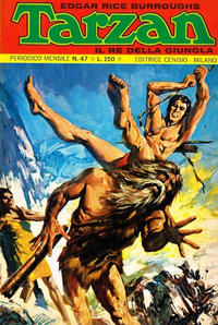 Cover Thumbnail for Tarzan (Editrice Cenisio, 1968 series) #47