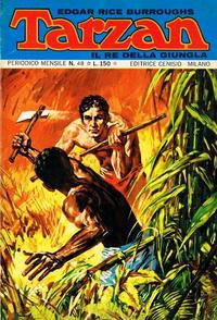 Cover Thumbnail for Tarzan (Editrice Cenisio, 1968 series) #48