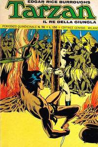 Cover Thumbnail for Tarzan (Editrice Cenisio, 1968 series) #56