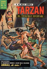 Cover Thumbnail for Tarzan (Editrice Cenisio, 1968 series) #3