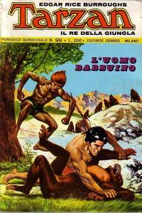Cover Thumbnail for Tarzan (Editrice Cenisio, 1968 series) #99