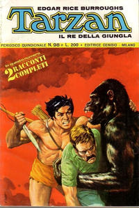 Cover Thumbnail for Tarzan (Editrice Cenisio, 1968 series) #98