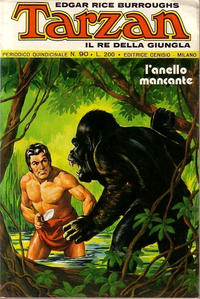 Cover Thumbnail for Tarzan (Editrice Cenisio, 1968 series) #90