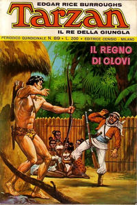 Cover Thumbnail for Tarzan (Editrice Cenisio, 1968 series) #89