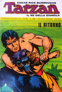 Cover Thumbnail for Tarzan (Editrice Cenisio, 1968 series) #59