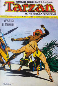 Cover Thumbnail for Tarzan (Editrice Cenisio, 1968 series) #60