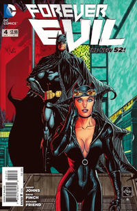 Cover Thumbnail for Forever Evil (DC, 2013 series) #4 [Ethan Van Sciver Catwoman Cover]