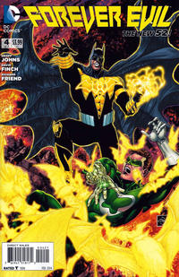 Cover Thumbnail for Forever Evil (DC, 2013 series) #4 [Ethan Van Sciver Yellow Lantern Cover]