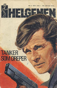 Cover Thumbnail for Helgenen (Nordisk Forlag, 1973 series) #2/1974