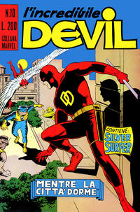 Cover Thumbnail for L'Incredibile Devil (Editoriale Corno, 1970 series) #10