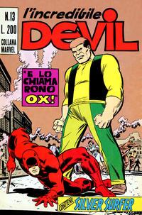 Cover Thumbnail for L'Incredibile Devil (Editoriale Corno, 1970 series) #13