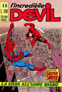 Cover Thumbnail for L'Incredibile Devil (Editoriale Corno, 1970 series) #14