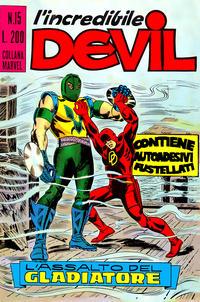 Cover Thumbnail for L'Incredibile Devil (Editoriale Corno, 1970 series) #15