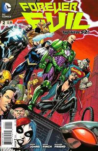 """Cover Thumbnail for Forever Evil (DC, 2013 series) #2 [Ethan Van Sciver """"Secret Society of Super-Villains"""" Cover]"""