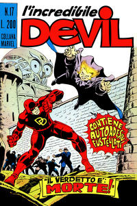 Cover Thumbnail for L'Incredibile Devil (Editoriale Corno, 1970 series) #17