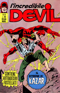 Cover Thumbnail for L'Incredibile Devil (Editoriale Corno, 1970 series) #19