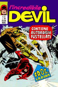 Cover Thumbnail for L'Incredibile Devil (Editoriale Corno, 1970 series) #20