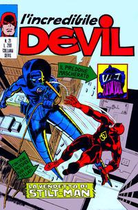 Cover Thumbnail for L' Incredibile Devil (Editoriale Corno, 1970 series) #21