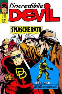 Cover Thumbnail for L'Incredibile Devil (Editoriale Corno, 1970 series) #24