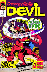 Cover Thumbnail for L'Incredibile Devil (Editoriale Corno, 1970 series) #25