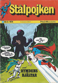 Cover Thumbnail for Stålpojken (Williams Förlags AB, 1969 series) #6/1974