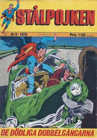 Cover Thumbnail for Stålpojken (Williams Förlags AB, 1969 series) #9/1970