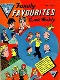 Cover Thumbnail for Family Favourites (L. Miller & Son, 1954 series) #5