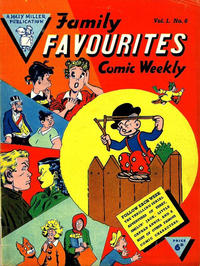 Cover Thumbnail for Family Favourites (L. Miller & Son, 1954 series) #6