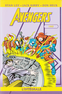Cover Thumbnail for Avengers : L'intégrale (Panini France, 2006 series) #2