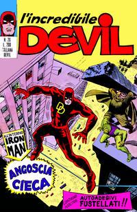 Cover Thumbnail for L'Incredibile Devil (Editoriale Corno, 1970 series) #26